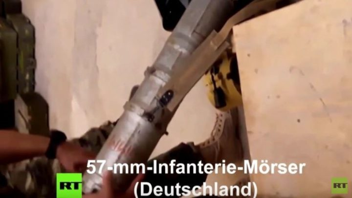 Depot von Al-Nusra-Front mit deutschen und US-Waffensystemen bei Aleppo entdeckt