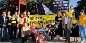 Keine Toleranz für Staaten, die das Waffenhandelsabkommen missachten