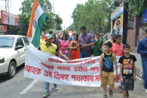 Defying diktat north-east India celebrates Independence Day