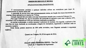 Exército Brasileiro proíbe Pokémon Go em suas unidades