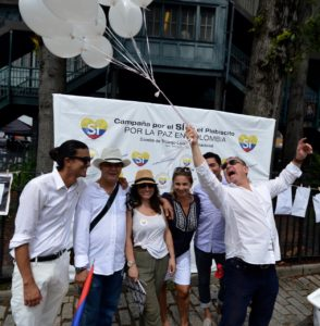 New York: Launching of the Campaign for the Yes to Peace in Colombia