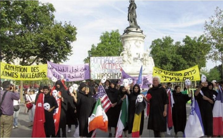 Del 6 al 9 de agosto: cuatro días de acciones por la abolición de las armas nucleares