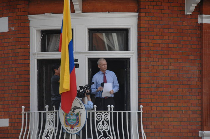 "Ecuador expresses its concern for inadequate response to ""serious incident"" in its embassy in London"