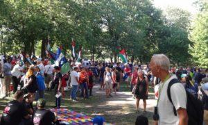 Le Forum Social Mondial de Montréal s'ouvre sur un ton festif