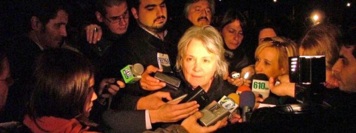 Lucía Topolansky: «Están destruyendo el proyecto brasilero».
