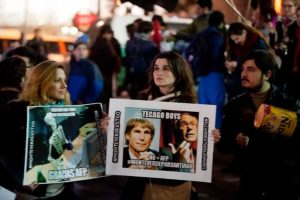 Cacerolazo chileno: No + AFP