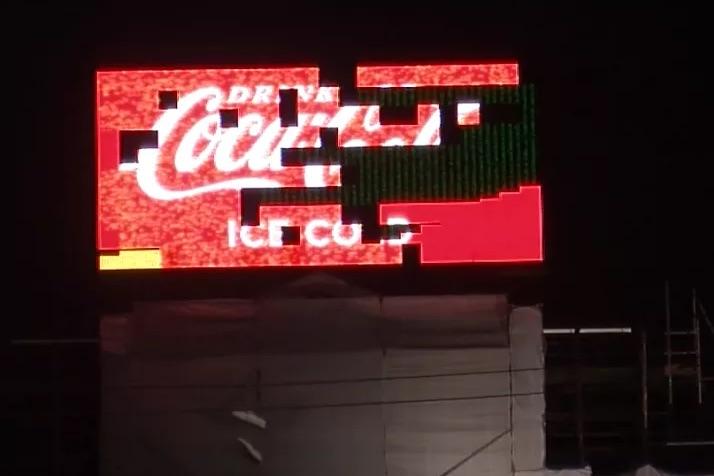 Bruxelles : Perquisition musclée suite au piratage de l'écran Coca-Cola