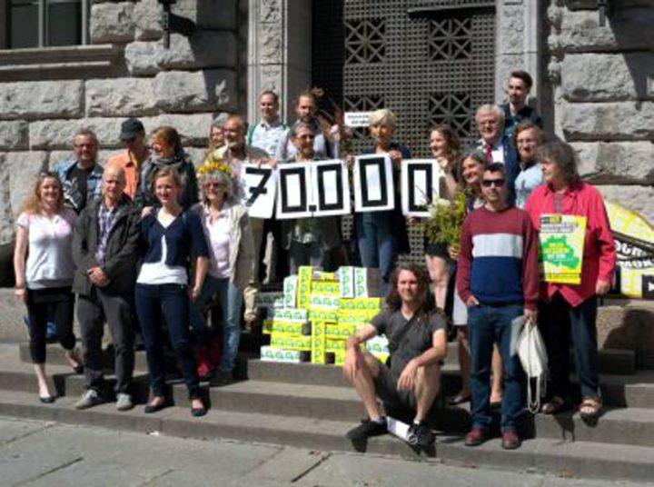 Über 58.000 gültige Unterschriften für mehr direkte Demokratie in Berlin
