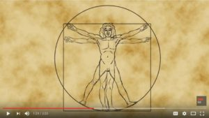 Da Vinci's Vitruvian Man of math – James Earle