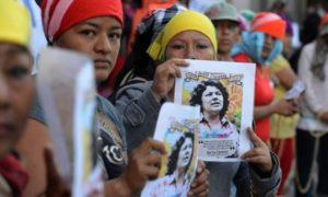 Copinh exige castigo para los funcionarios responsables de asesinato de Berta Cáceres
