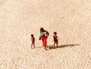 El desierto se traga al territorio africano