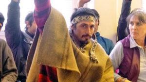 Mapuche vs. las corporaciones: comienza el juicio por extradición a un lonko