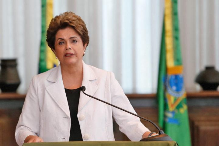 Pronunciamiento de la presidenta Dilma Roussef tras la aprobación del golpe parlamentario