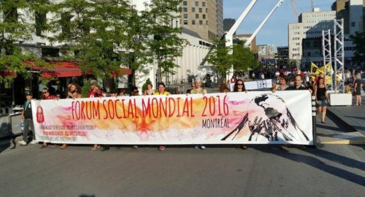 Recrear el FSM, redefinir el altermundialismo