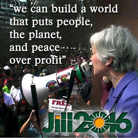 Jill Stein –  an essential part of the debate in the USA