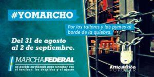 Marcha Federal en Argentina contra los tarifazos, los despidos y el ajuste