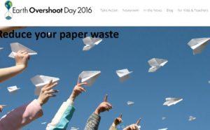 Quest'anno è l'8 Agosto l'Earth Overshoot Day