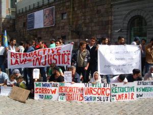 Proteste in Svezia per la nuova legge sui richiedenti asilo