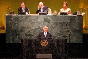 Bolivia y otros cinco países abandonan Asamblea de ONU durante discurso de Temer