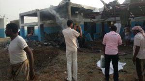 Made in Usa la bomba contro l'ospedale di Medici senza Frontiere nello Yemen