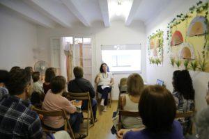 Presentación del libro las místicas en Barcelona