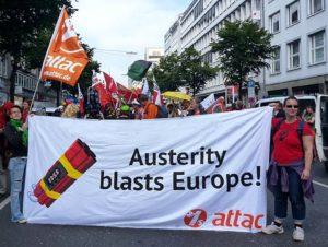 Gegen Austerität und Rassismus: Protest-Wochenende in Berlin