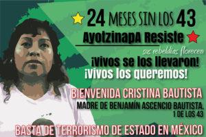 Buenos Aires: Semana por Ayotzinapa 22 al 28 de septiembre
