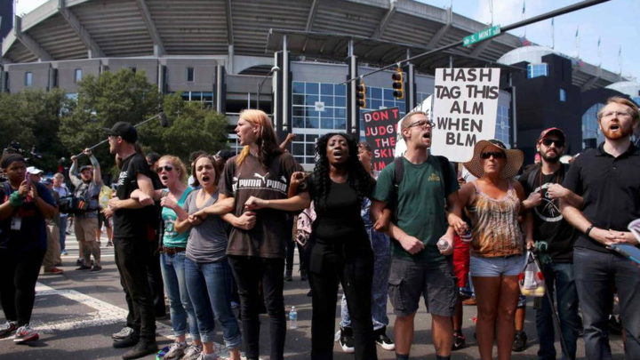 Protests Continue Across Charlotte for Sixth Straight Day