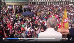 The Corbyn crowd, and its signal