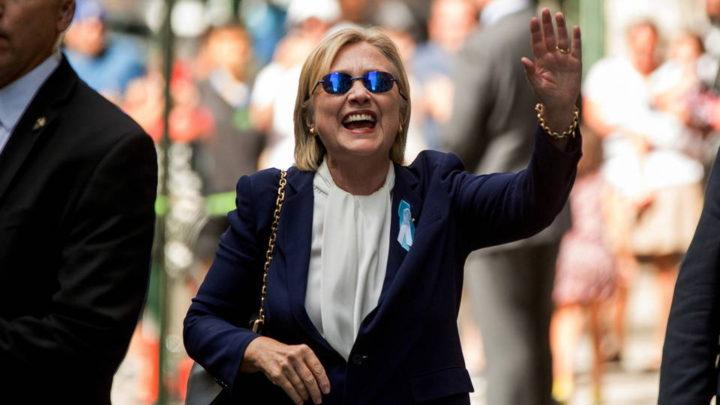 Esplosive mail di Hillary Clinton