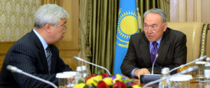 Kazakhstan claims 'moral right' to push for banning nukes
