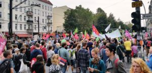Tens of thousands in seven german cities on the streets against TTIP and CETA