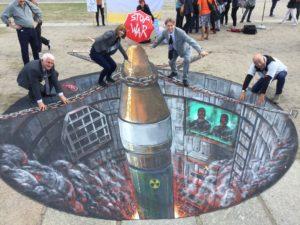 Desde Berlim uma esperança ao Desarmamento Nuclear