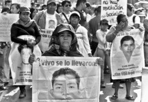 A 2 años de Ayotzinapa: «Le decimos al gobierno mexicano que  no vamos a descansar hasta saber la verdad».