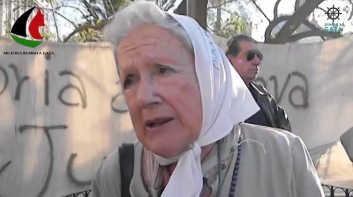 Madres de Plaza de Mayo apoyan a Mujeres Rumbo a Gaza