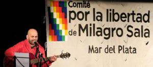 Más de cien referentes de la cultura local suscribieron un documento en apoyo a la libertad de Milagro Sala