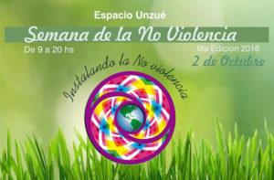 Llega una nueva edición de la Semana de la No-Violencia