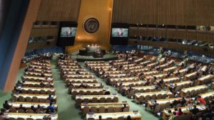 Governments submit draft resolution to commence ban treaty negotiations