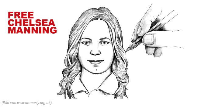 Chelsea Manning ist in den Hungerstreik getreten