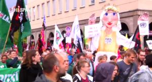 320.000 manifestantes marchan en toda Alemania contra TTIP y CETA