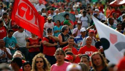 30 mil personas participaron del Día Nacional de Paralización, en São Paulo