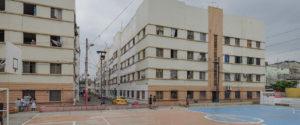 Las Casas Colectivas: el buque en el centro de Guayaquil