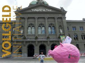 Vollgeld on Tour in der Schweiz