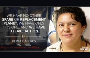 Denuncia di un sergente disertore: Berta Cáceres era nella lista nera dell'esercito