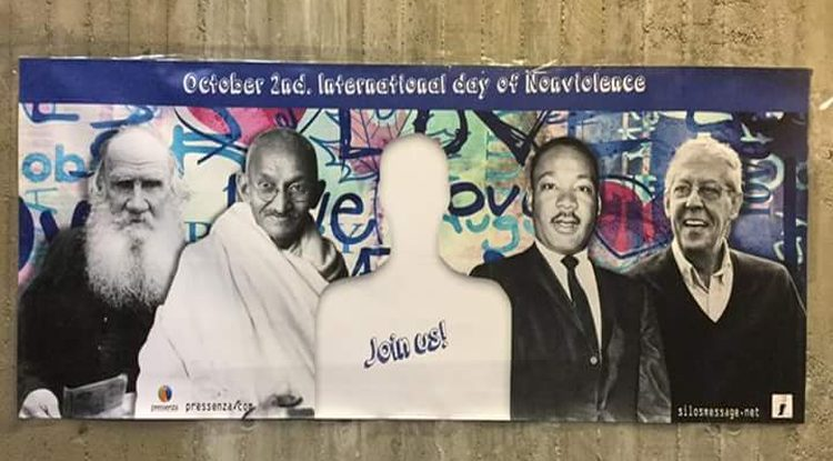 selfies nonviolence october 2nd