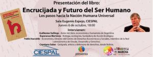 Quito: Presentación del libro ''Encrucijada y futuro del ser humano, los pasos hacia la Nación Humana Universal''