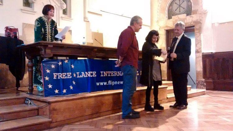 Premiazione Pressenza Premio Diritti Umani 2016