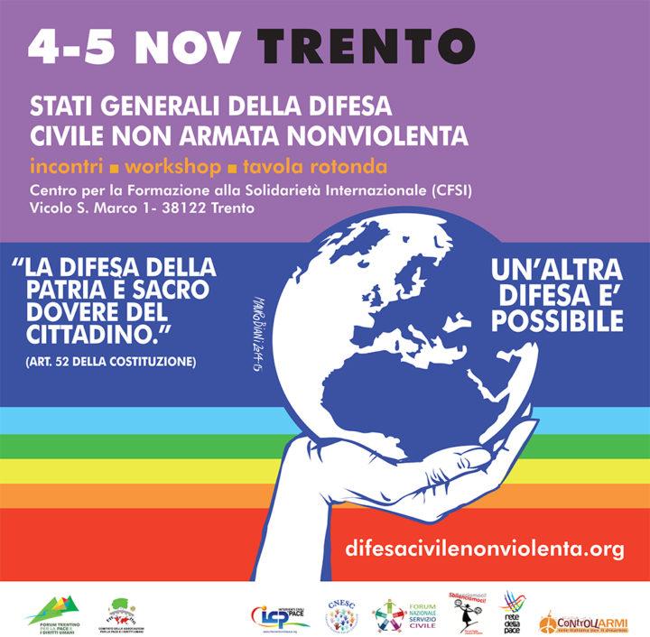 Stati Generali della Difesa Civile a Trento