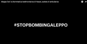 Aleppo Est, MSF: 11 ambulanze per 250.000 persone, 5 colpite in un mese – Video testimonianza autista Free Aleppo