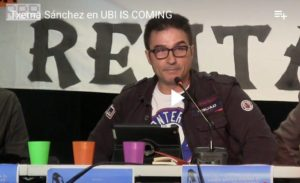 'Viene la renta básica', intervención de Txema Sánchez